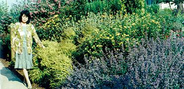 英国1997年アロマ国際会議に参加した松永満智子